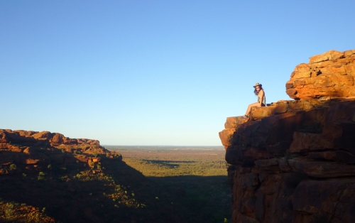 Sonnenaufgang - Australien Kings Canyon